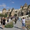 Kapadokya'da turist yoğunluğu