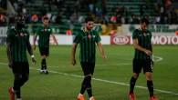 Akhisarspor, UEFA Avrupa Ligi'ne mağlubiyetle başladı