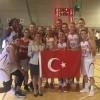 A Milli Kadın Basketbol Takımı, Belçika'yı 64-60 yendi
