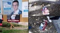 Genç siyasetçiden afiş olaylarına tepki