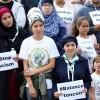 Brüksel'de ırkçılık karşıtı gösteri