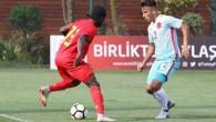U18 Milli Takımı, Belçika'ya 3-1 yenildi