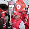 Belçika'da emeklilik hakları protestosu
