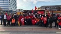 """Almanya'da açılan """"sözde sanat sergisi"""" protesto edildi"""
