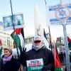 Hollanda'da Filistin'e destek gösterisi