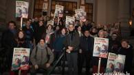 Yüksek kira artışları Schaerbeek belediye binasında protesto edildi