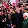 Cumhurbaşkanı Erdoğan Paris'te