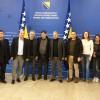 UTV ekibi Bosna-Hersek'te resmi temaslarda bulundu
