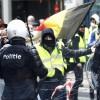 Brüksel'deki gösterilerde gerginlik