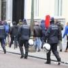 Brüksel'de Sarı Yelekli protestosuna polis engeli