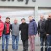 Schaerbeek'li sosyalistlerden grevcilere destek