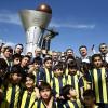 Fenerbahçe'nin Avrupa Ligi şampiyonluğu anıtı açıldı
