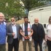 Genç Milli Görüşçülerden mülteci kampına ziyaret