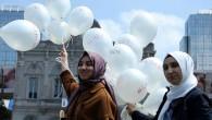 Brüksel'de İdlib'e destek gösterisi düzenlendi
