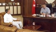BAŞKAN KIR'DAN TOSMUR BELEDİYESİNE ZİYARET