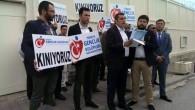 MAHİNUR ÖZDEMİR'İN İHRACI ANKARA'DA KINANDI