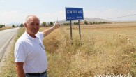 USTA GAZETECİ EMİRDAĞ'DA ÇEKİM YAPTI