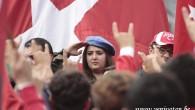 """BRÜKSEL'DE """"HEPİMİZ MEHMEDİZ, PKK'YA YETERİZ"""" SESLERİ YÜKSELDİ"""