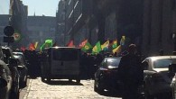 PKK'LI TERÖRİSTLER BRÜKSEL KONSOLOSLUĞUNDA OLAY ÇIKARDI