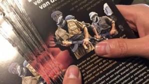 BELÇİKA'DA ANTİ PKK BROŞÜRLERİ DAĞITILIYOR