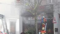 BRÜKSEL'DE YANGIN: İKİ İTFAİYECİ YARALANDI