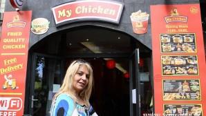 """BRÜKSEL'DE HELAL FAST-FOOD: """"MY CHİCKEN"""""""