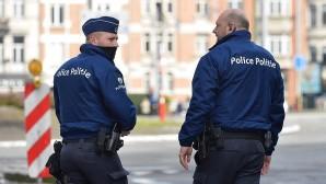 """Belçika polisinden """"ceza yazmama"""" protestosu"""