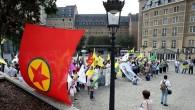 Belçika'da terör örgütü PKK'ya yine gösteri izni