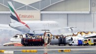 Dubai'de uçak kazası