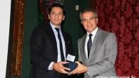 """""""Saint-Josse Fahri Vatandaşlık"""" ödülü Nordin Jbari'ye verildi"""