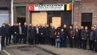 SP Temsilciliğinden Marchienne Türk Kültür Ocağı'na anlamlı ziyaret