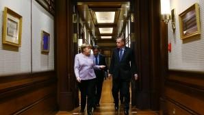 Erdoğan-Merkel ortak açıklaması