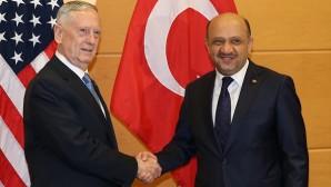 Savunma Bakanı Işık, Brüksel'de ABD'li mevkidaşı ile görüştü