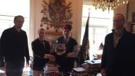 Macar Diplomatlardan Kadir Mısıroğlu'na ziyaret
