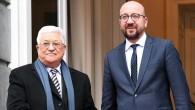 Filistin Devlet Başkanı Abbas Belçika'da