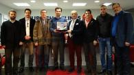 TÜMİŞAD'dan THY Macaristan Müdürü Çarkçı'ya hoşgeldin ziyareti