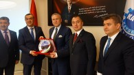 Macar Büyükelçi Kiss ve Fahri Konsolos Şahbaz Kayseri'de