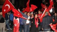 Brüksel'de vatandaşlar halk oylaması sonucunu kutladı