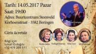"""Beringen'de """"Şiir ve Türkü"""" gecesi"""