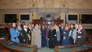 Gent'li Türk kadınları Brüksel'in tarihi yerlerini keşfettiler