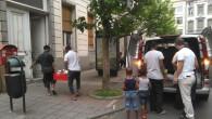 Saint-Josse'daki Afrikalı göçmenler yardım bekliyor