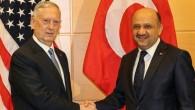 Milli Savunma Bakanı Işık, Brüksel'de Mattis'le görüştü