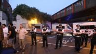 Londra'da Müslümanları hedef alan araçlı saldırı