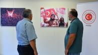 """Paris'te """"15 Temmuz Milli İradenin Yükselişi Fotoğraf Sergisi"""""""