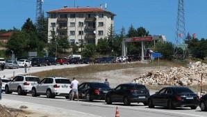 Dereköy Sınır Kapısı'nda yoğunluk