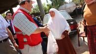 Türk Kızılayı Lübnan'daki Türkmenlere kurban eti dağıttı