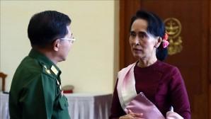 """Belçika'da Myanmar Devlet Başkanı'na verilen """"Onur Vatandaşlığı"""" askıya alındı"""