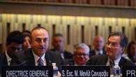 Dışişleri Bakanı Çavuşoğlu UNESCO'da konuştu