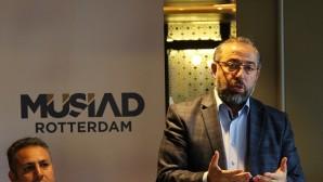 Hollanda'da Türk iş adamları bir araya geldi