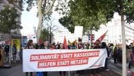 Viyana'da 5 bin kişi ırkçılığı protesto etti
